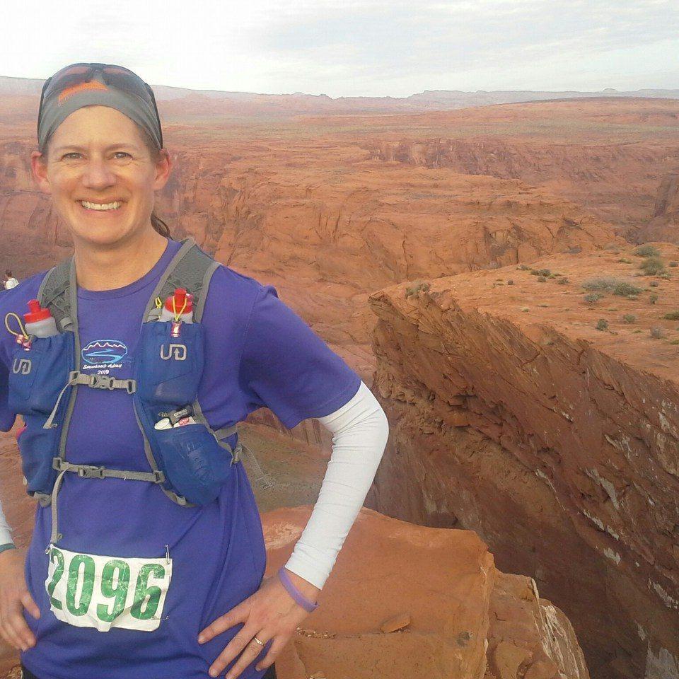 Theresa on Moab Ridge